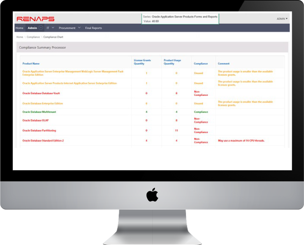 ROCS is an automated tool, combined with specialized expertise to manage your Oracle® investment